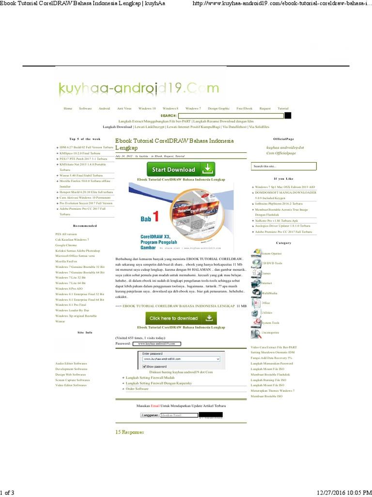 Corel Draw X6 Kuyhaa : corel, kuyhaa, Coreldraw, Kuyhaa, Scribd