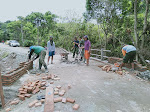 Satgas TMMD Sidrap Selesaikan Pengerjaan Lintasan Penyembrangan Desa Mattirotasi