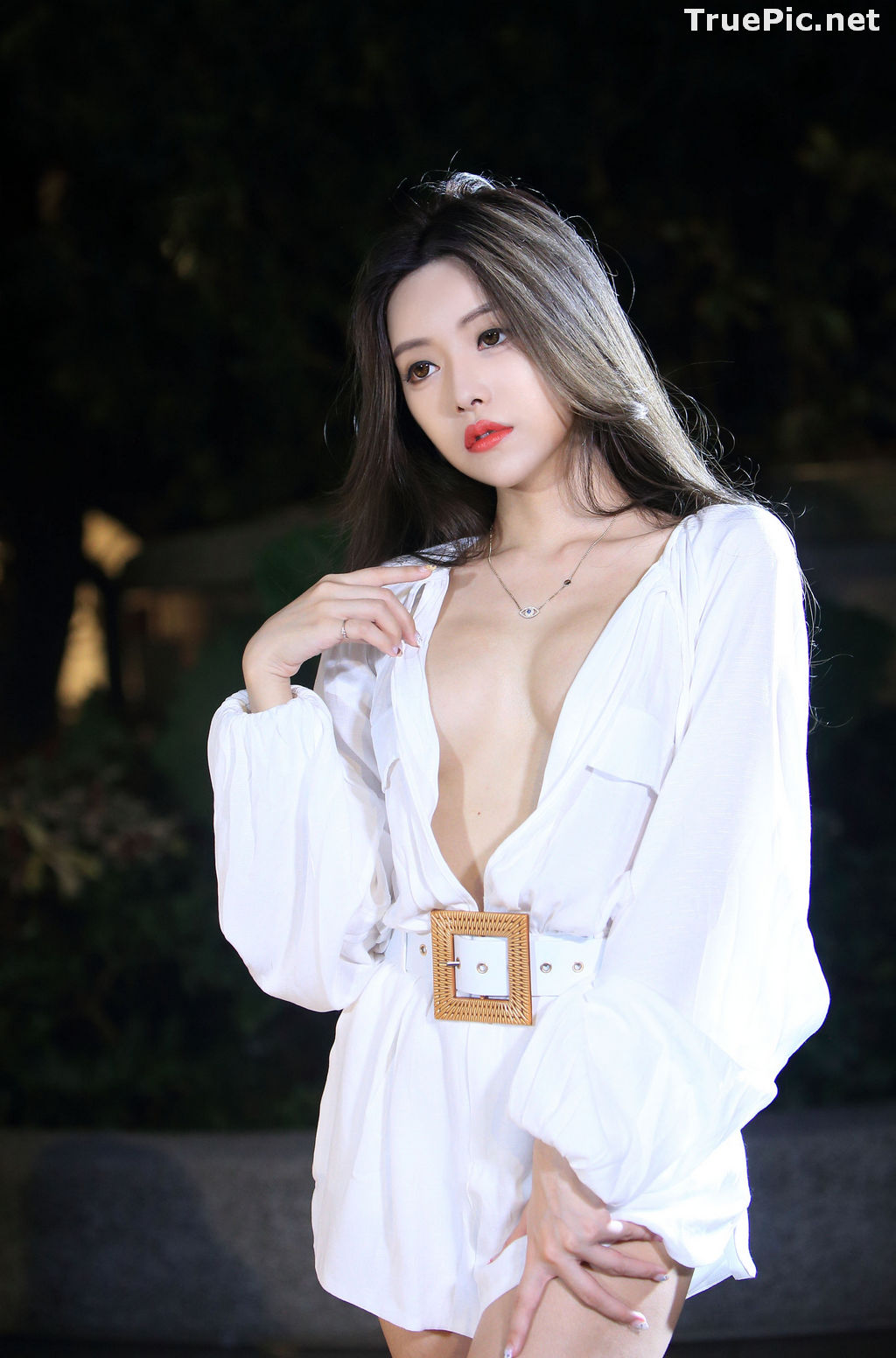 Image Taiwanese Model – 莊舒潔 (ViVi) – Sexy and Pure Baby In Night - TruePic.net - Picture-54