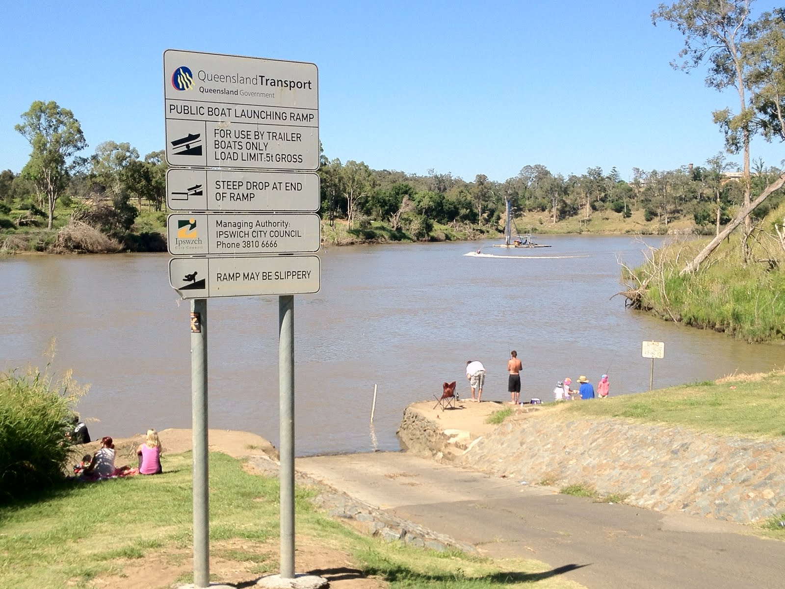 DIVISION 2 NEWS - CITY OF IPSWICH: PThe release from Wivenhoe Dam