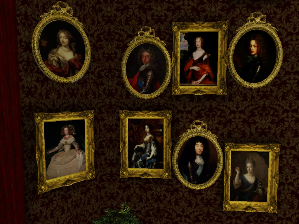 Painting Bathroom Wall Tiles My Sims 3 Blog: 17th Century Baroque Paintings Set By The