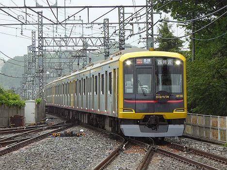 西武狭山線 各停 西所沢行き6 東急5050系4110F Hikarie号(西武ドーム臨)