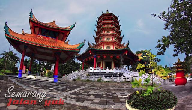 Pagoda Buddhagaya Watugong Obyek Wisata di Semarang Yang Paling Populer