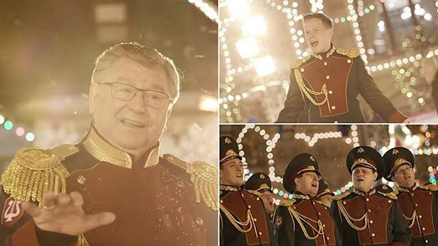 Last Christmas: Εκπληκτική εκδοχή από την ρωσική εθνική φρουρά (βίντεο)