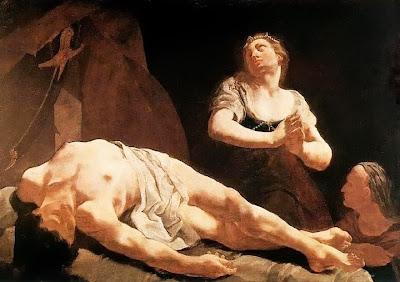 Judith and Holofernes (1730), Giulia Larna
