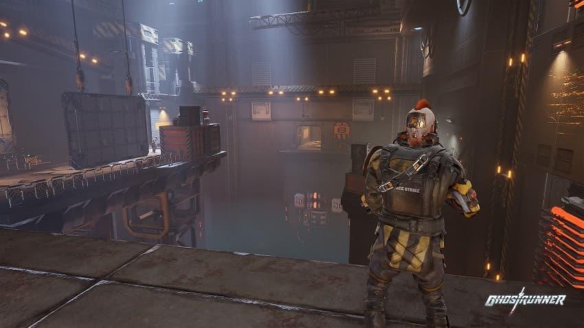 Обзор игры Ghostrunner - киберпанк-экшена про ниндзя - 03