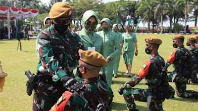 Pangdam I BB Pimpin Upacara Pemberangkatan Satgas Operasi Pamrahwan Maluku dan Maluku Utara