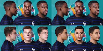 PES 2021 France FacePack by Eyzord