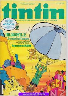 Tintin-numéro 9, année 38, 1983, Chlorophylle