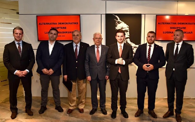 'All Albanians in support of the list of the United Presevo Valley in Serbian elections'