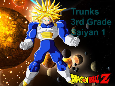 Trunks Super Saiyan 1 Level 3