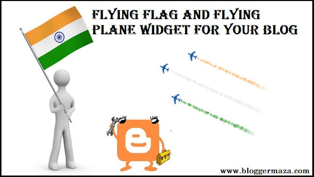 add-indian-flying-flag-flying-plane-widget-blogger-blog
