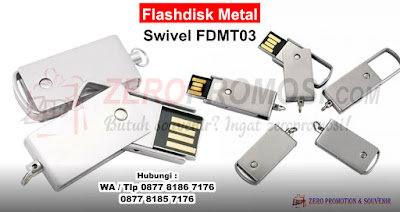 Usb Metal Swivel Mini Fdmt22, Flash Disk Promosi, Souvenir USB Flashdisk Metal, flashdisk besi promosi, flashdisk unik, usb putar metal model terbaru