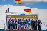 HÍPICA - El equipo español campeón de Europa de Raid en el Euston Park. Paula Muntalà plata y Jaume Puntí bronce