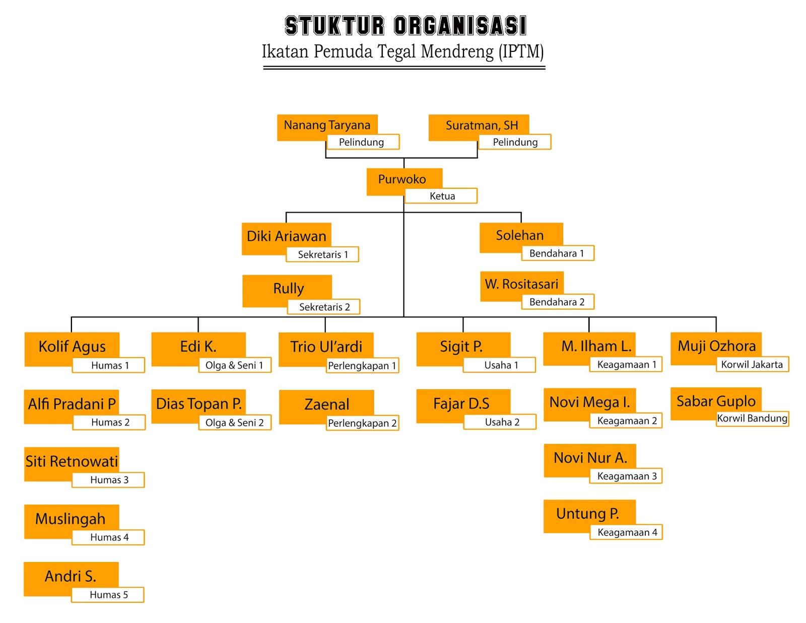 struktur organisasi ~ ikatan pemuda tegal mendreng Struktur Organisasi Warnet struktur organisasi
