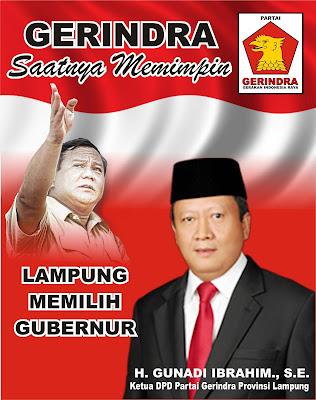 Gerindra Dorong PAN dan PKS Bentuk Poros Baru di Pilgub Lampung 2018