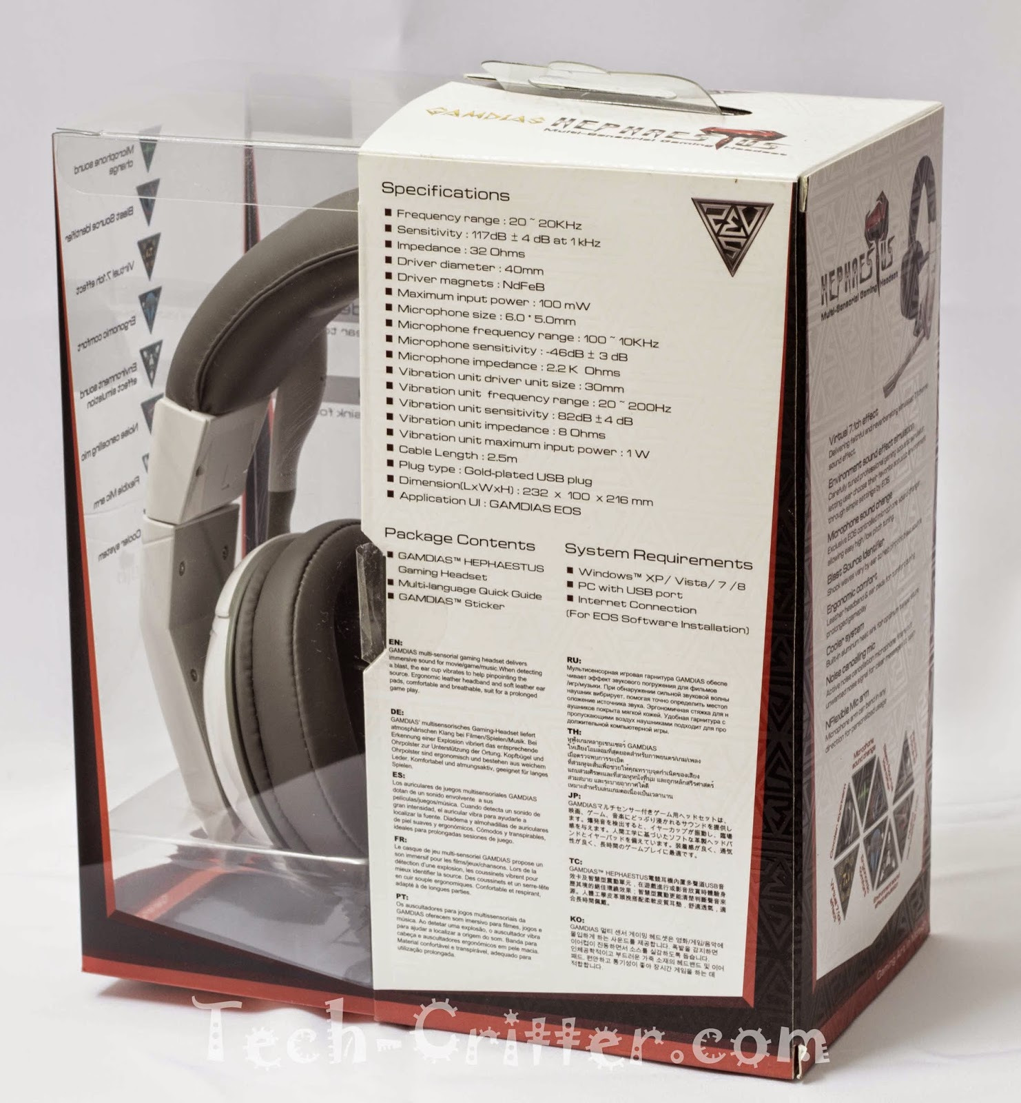 Unboxing & Review: Gamdias Hephaestus Gaming Headset 58