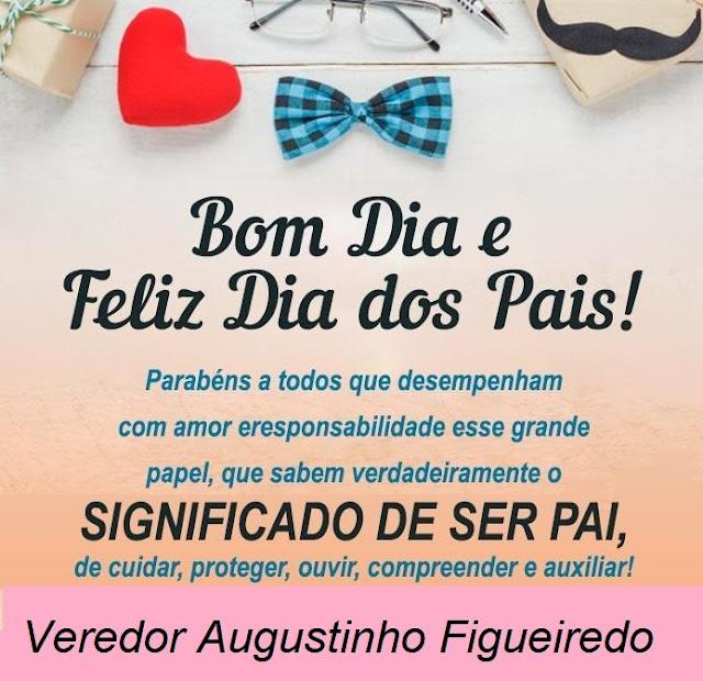 Homenagem do Vereador Augustinho Figueiredo