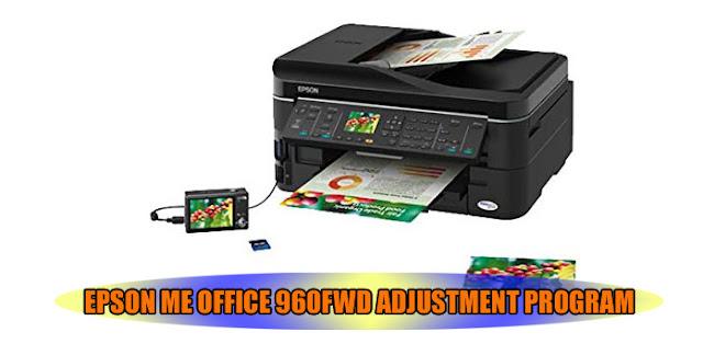 EPSON ME OFFICE 960FWD PRINTER ADJUSTMENT PROGRAM