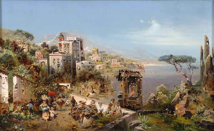 Robert Alott 1850 1910 Austrian Painter Artists And Art