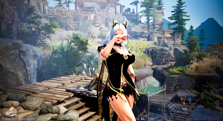 NINESAUR: Black Desert Online Tritch Costume
