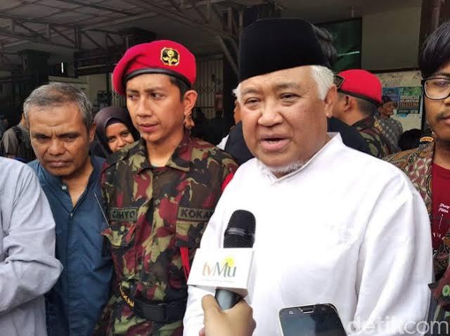 Din Syamsuddin: Perjuangan Kita Berat karena Menghadapi Lingkaran Setan, Demokrasi Dilumpuhkan!
