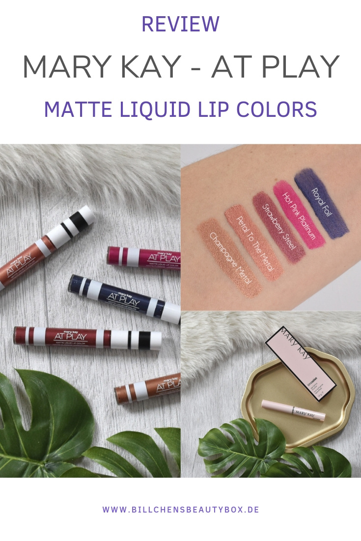 Mary Kay Liquid Lipsticks - At Play Matte Liquid Lip Colors - Review & Swatches