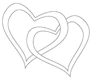שני לבבות לצביעה