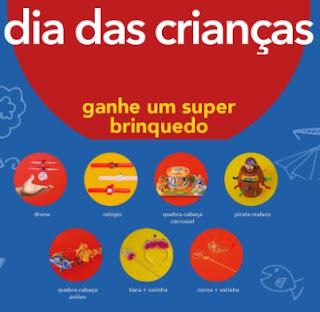 Promoção CAEDU Dia das Crianças 2020 Compre Ganhe Brinquedo