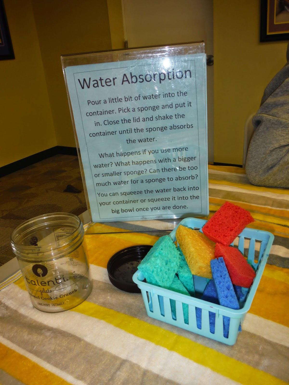 Library Lalaland Preschool Science Water