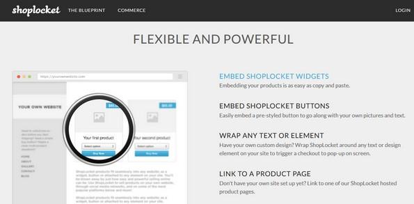 Shoplocket service for eCommerce cart