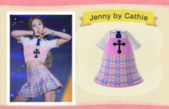 K-POP in Animal Crossing: BLACKPINK outfit codes for your game character