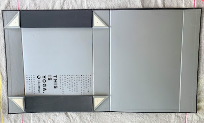 Make jewelry displays from Lululemon box