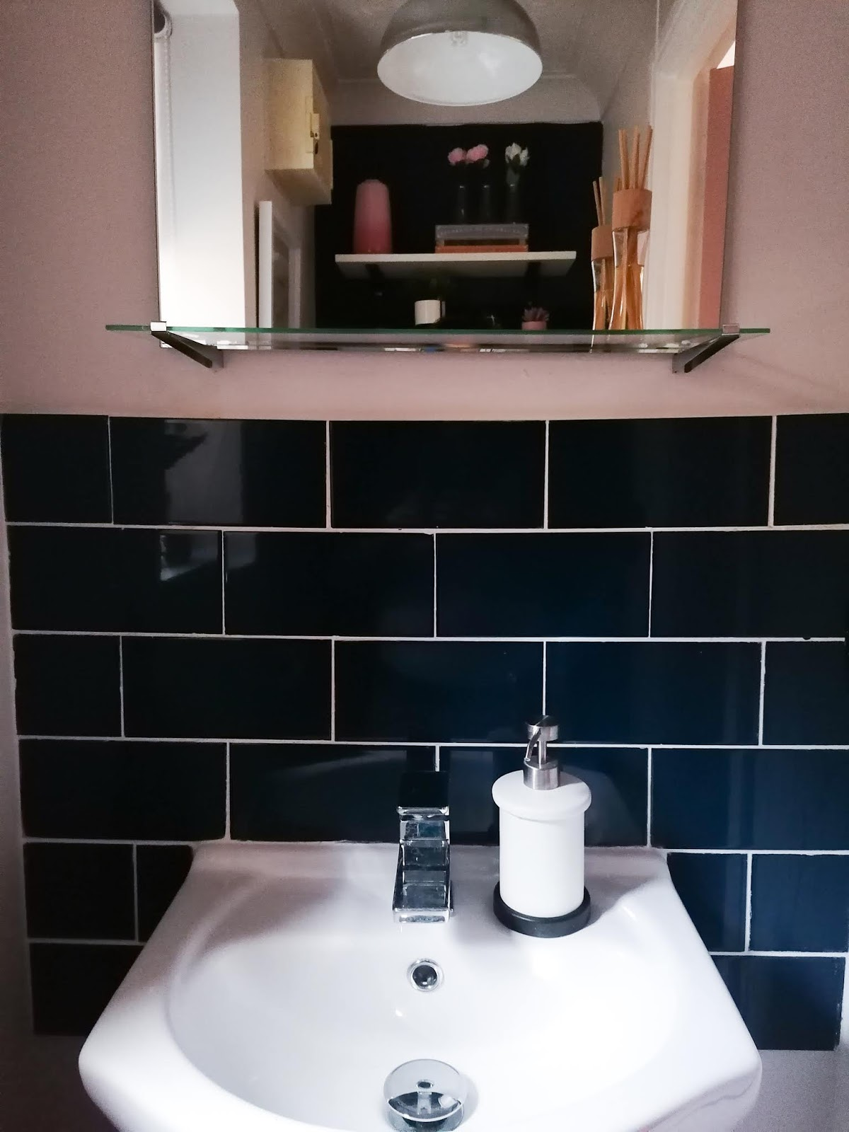 Downstairs cloakroom renovation on a budget