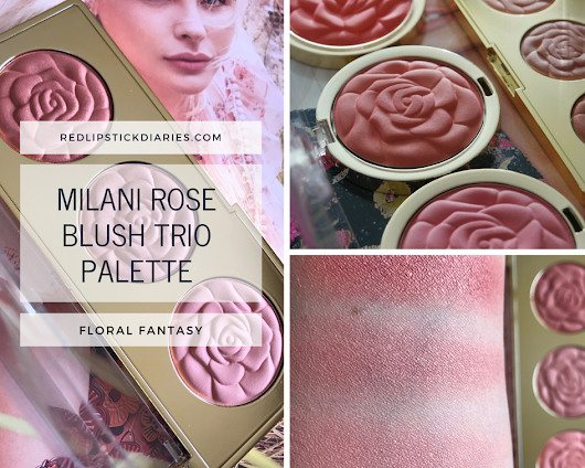 Milani Rose Blush Trio Palette In Floral Fantasy