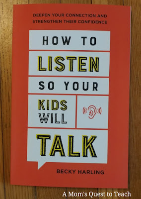 book cover of How to Listen So Your Kids Will Talk