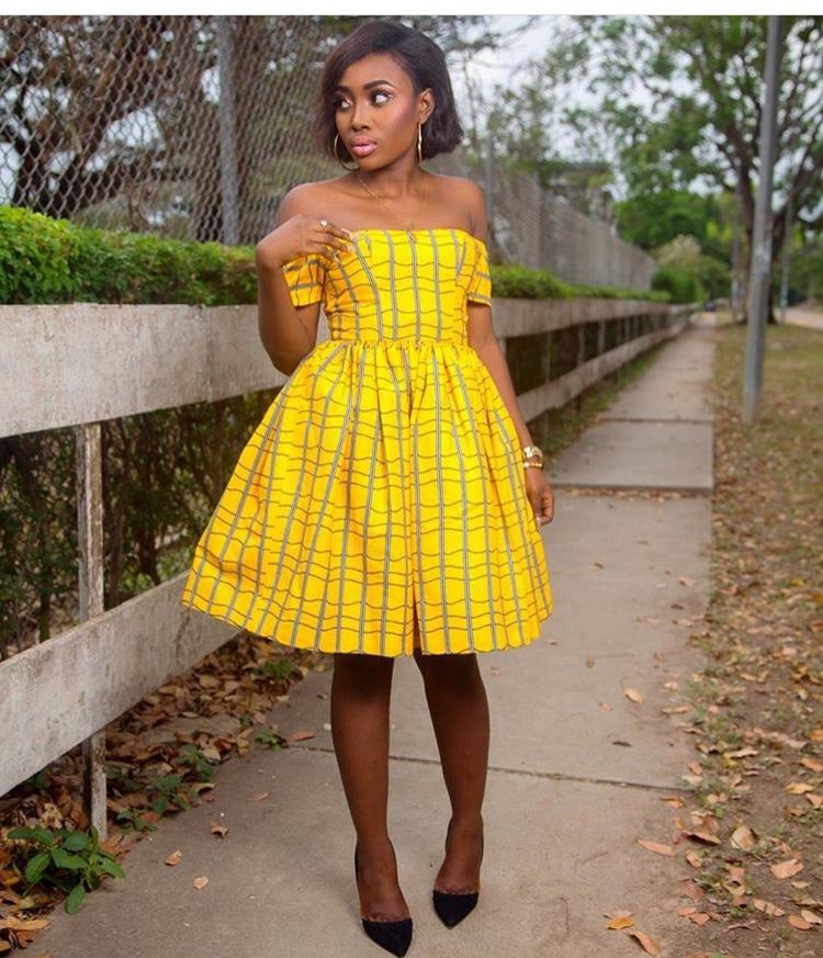 Creative Ankara Short Gown Styles 2018 For African Women