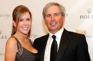 Fred Couples And His Partner Midge Trammel