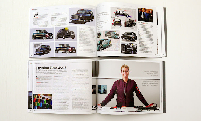 Geely Design magazine pages