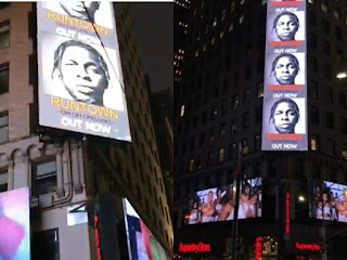 Runtown Billboard In New York