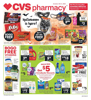 ⭐ CVS Ad 10/25/20 and 11/1/20 ⭐ CVS Weekly Ad October 25 2020