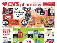 CVS Ad October 25 - 31, 2020 and 11/1/20
