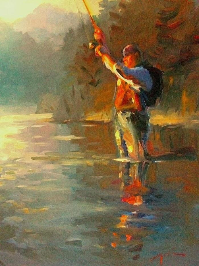 Американский художник-импрессионист. F. Michael Wood