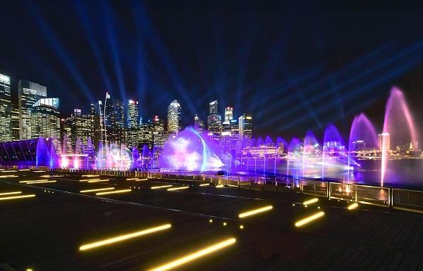Lễ hội ánh sáng diễn ra tại Marina Bay Sands