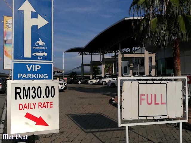 Parking Jeti Marina pulau Pangkor