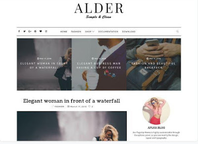 best free responsive blogger template
