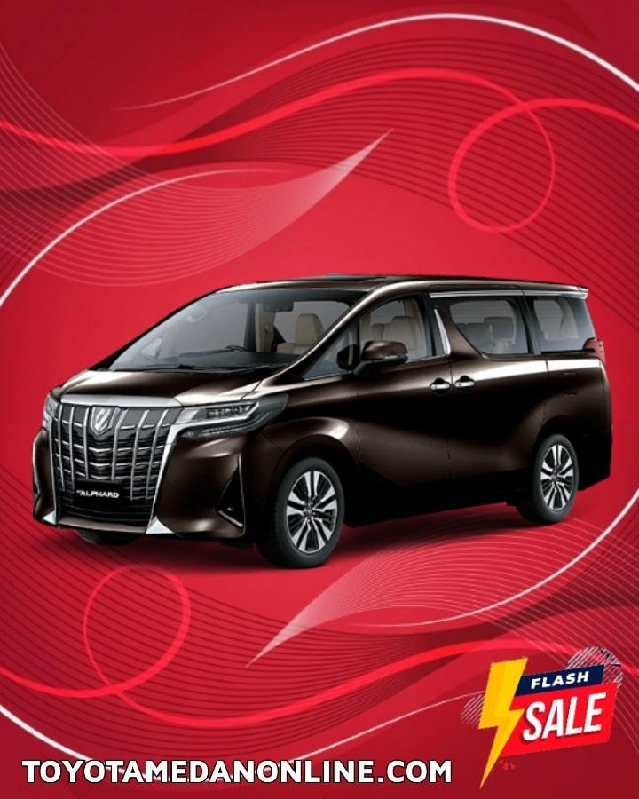 Harga Promo Toyota Alphard Medan