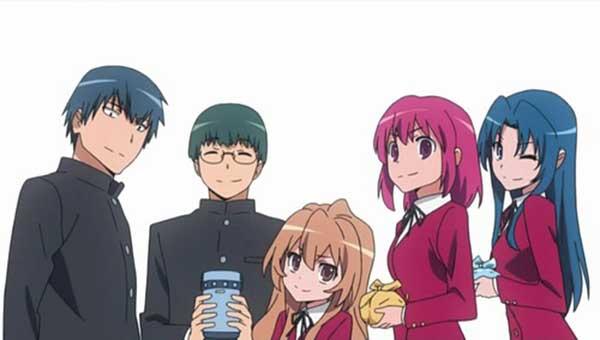 Toradora - anime romance yang populer