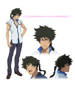 โอมะ เคนโนะสุเกะ โทคิซาดะ (Ouma Kennosuke Tokisada) @ คุโระ มุคุโระ (Kuromukuro: クロムクロ)