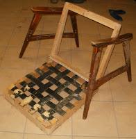 jak wyremontować fotel PRL